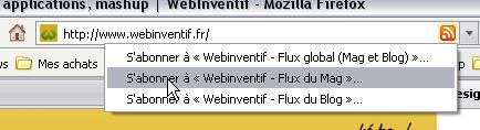 Normalisation d'un site comportant des flux annexes