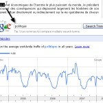 Bookmarklet Google Trends