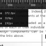 Prendre des mesures à l'écran via un bookmarklet