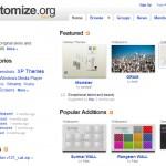 Customize.org, vous cherchez un skin ou un wallpaper ?